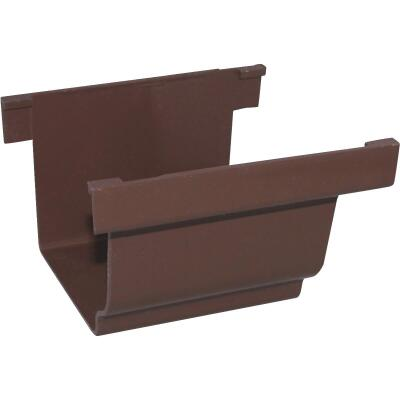 Repla K 5 In. Vinyl Brown Gutter Connector