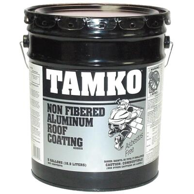 TAMKO 5 Gal. Non-Fibered Aluminum Roof Coating