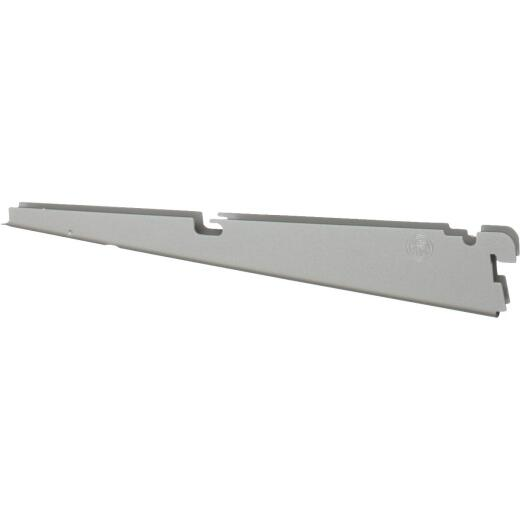 FreedomRail 12 In. Nickel Twin Shelf Bracket