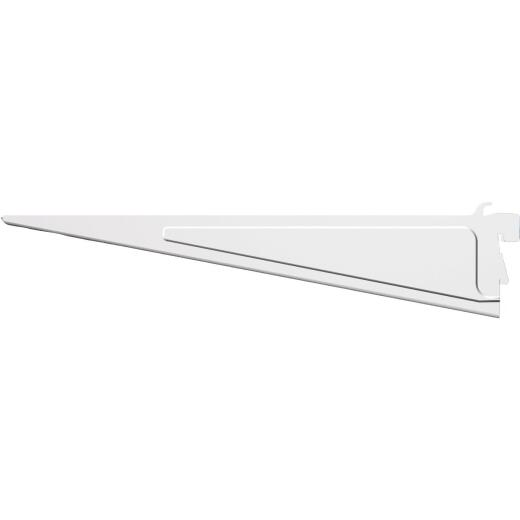 Closetmaid ShelfTrack 12 In. White Shelf Bracket