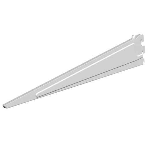 Closetmaid ShelfTrack 20 In. White Shelf Bracket