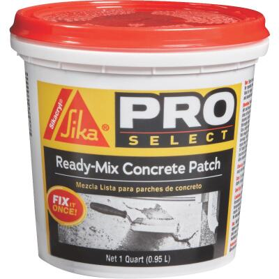 Sika 1 Qt Ready-Mix Gray Concrete Patch