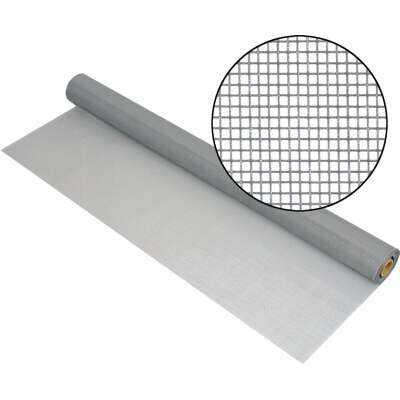 Phifer 32 In. x 100 Ft. Gray Premium Polyester Mesh Screen Cloth
