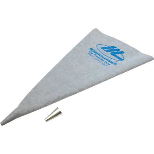 Marshalltown 12 In. x 24 In. Vinyl Grout Bag w/Metal Tip