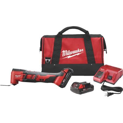 Milwaukee M18 18 Volt Lithium-Ion Cordless Oscillating Tool Kit