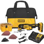 DeWalt 20 Volt MAX XR Lithium-Ion Brushless Cordless Oscillating Tool Kit Image 1