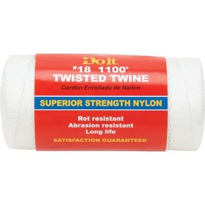 Do it #18 x 1100 Ft. White Nylon Twisted Twine