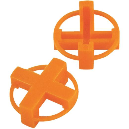 Marshalltown 1/4 In. Orange Tavy Tile Spacers (100-Pack)