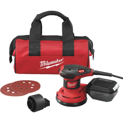 Milwaukee 5 In. 3.0A Random Orbit Finish Sander