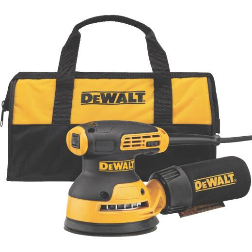 DeWalt 5 In. 3.0A Random Orbit Finish Sander