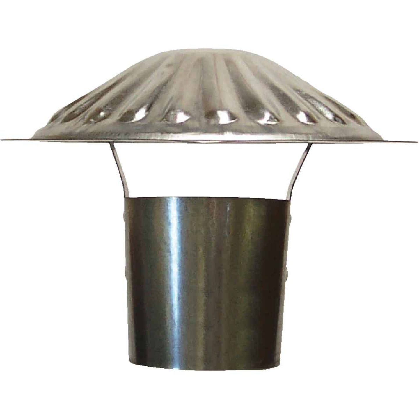 S & K Galvanized Steel 3 In. x 6-3/4 In. Vent Pipe Cap Image 1