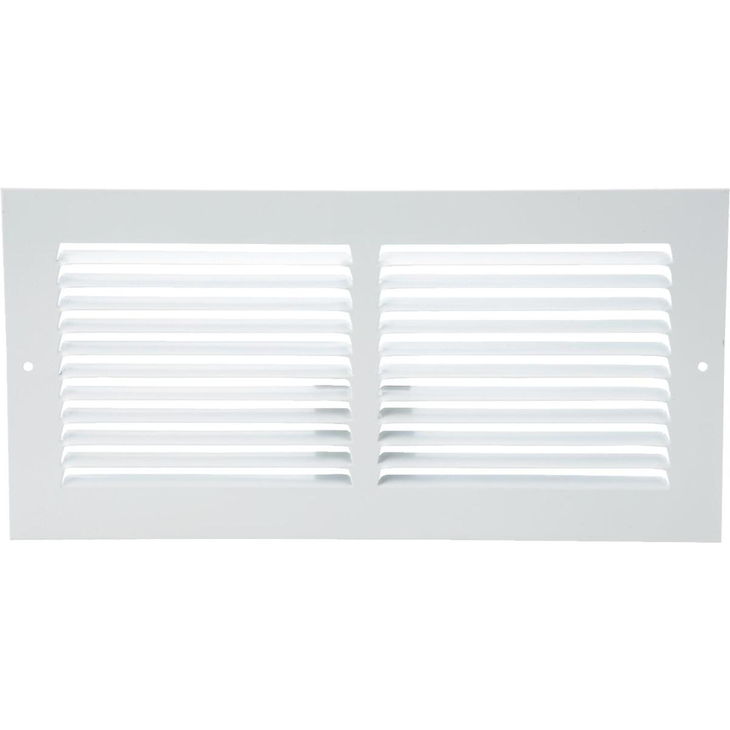 Home Impressions 6 In. x 14 In. Stamped Steel Return Air Grille Image 2