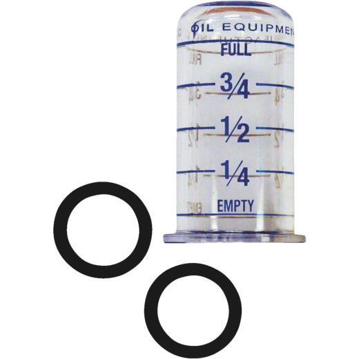 King Oil Tank Gauge Vial