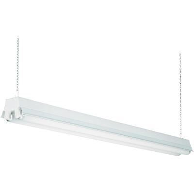 Lithonia 4 Ft. 2-Bulb T12 Fluorescent Shop Light Fixture