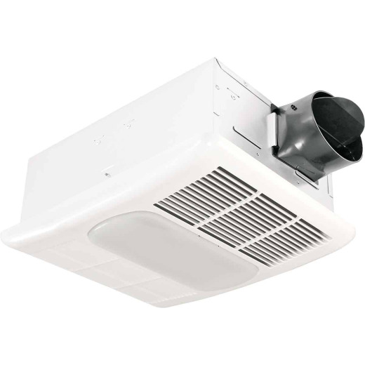 Delta BreezRadiance 80 CFM 1.5 Sones 120V Bath Exhaust Fan with Heater