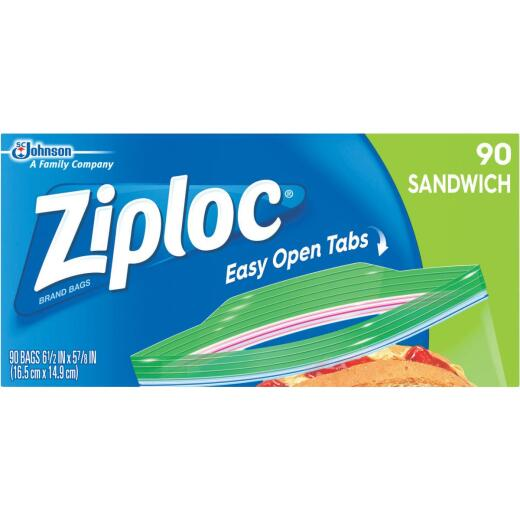 Ziploc Sandwich Food Storage Bag (90 Count)