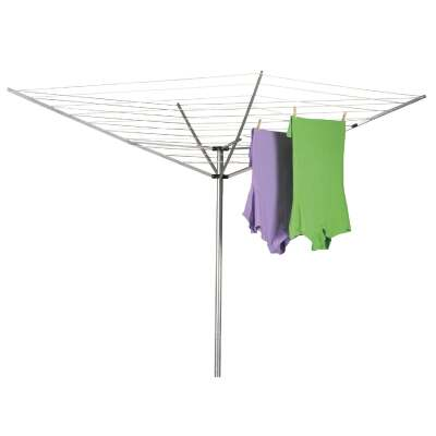 Household Essentials Sunline 73 In. x 72 In. 165 Ft. Drying Area Umbrella Style Clothes Dryer