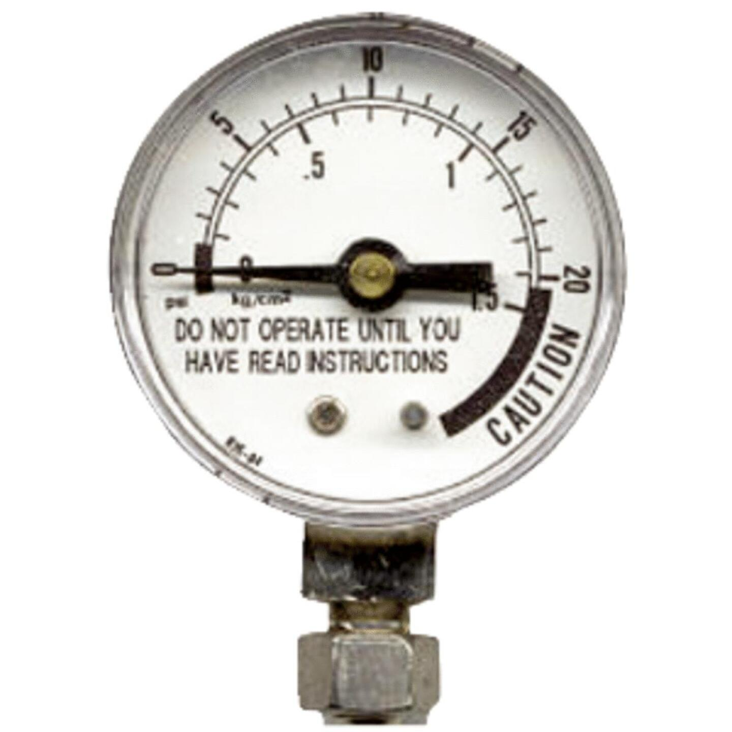 Presto Pressure Gauge with Nut Image 1