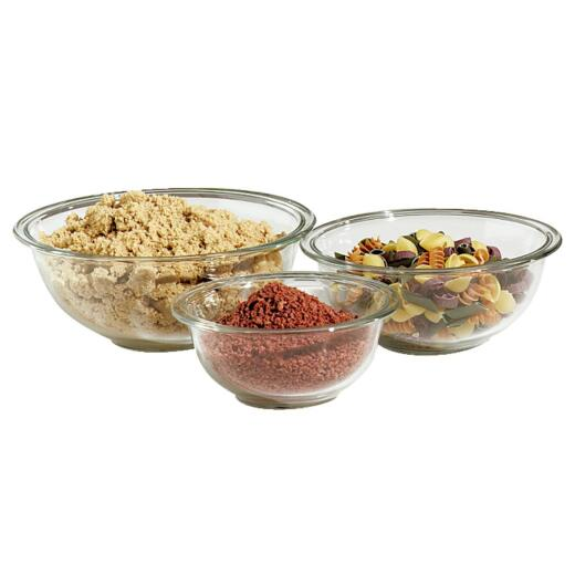 Pyrex Prepware Glass Mixing Bowl Set (3-Piece)