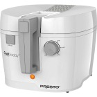 Presto CoolDaddy 1.5 Qt. White Aluminum Deep Fryer Image 1