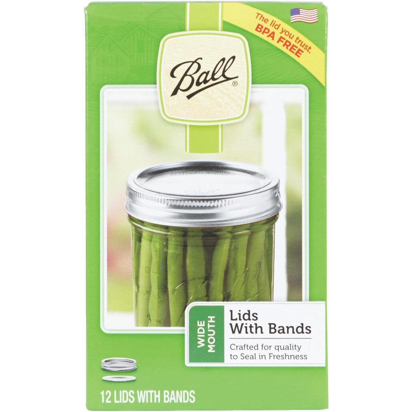 Ball Wide Mouth Dome Canning Lid with Band (12-Count) Image 2