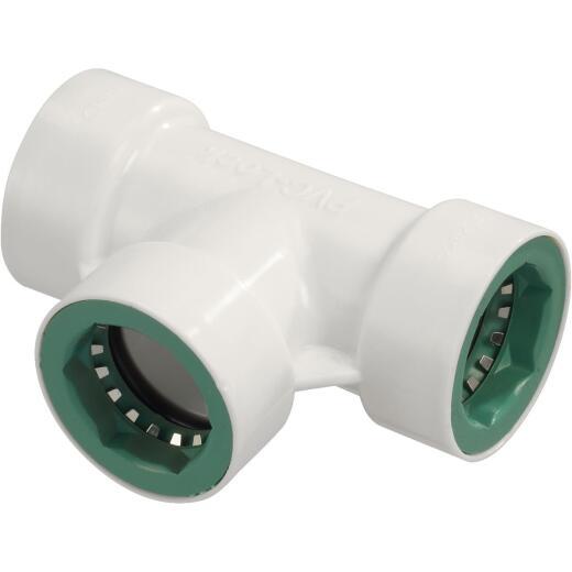Orbit 3/4 In. x 1/2 In. PVC-Lock Tee