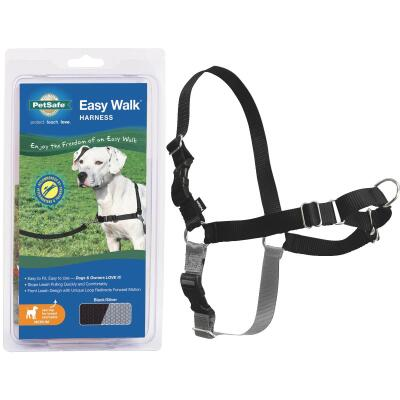 Petsafe Easy Walk 23 In. to 33 In. Black Harness