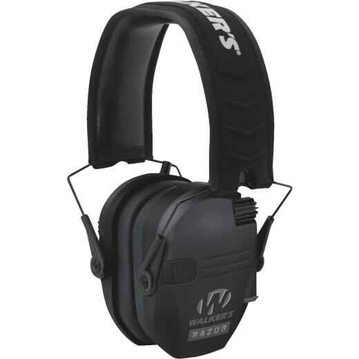 Walker's Razor Series Black Electronic Earmuffs