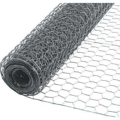 1 In. x 24 In. H. x 10 Ft. L. Hexagonal Wire Poultry Netting