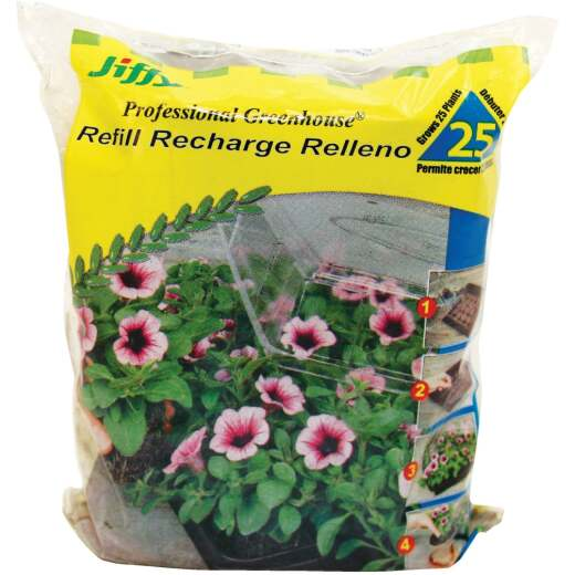 Jiffy Compressed Peat Pot Pellets (25-Pack)