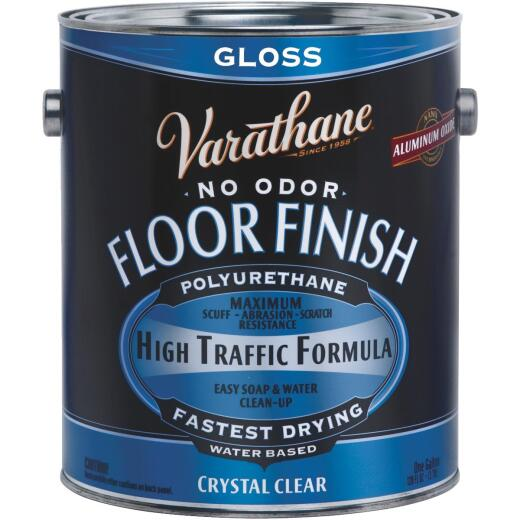 Varathane Gloss Water-Based Diamond Floor Finish, Gallon