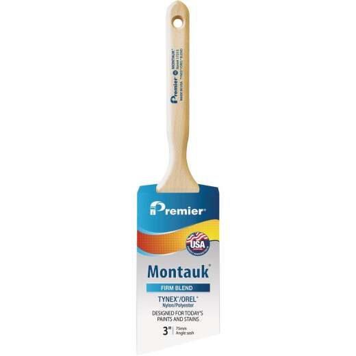 Montauk 3 In. Angle Sash Nylon/Poly Paint Brush