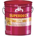 Duckback SUPERDECK Transparent Exterior Stain, Red Cedar, 5 Gal. Image 1