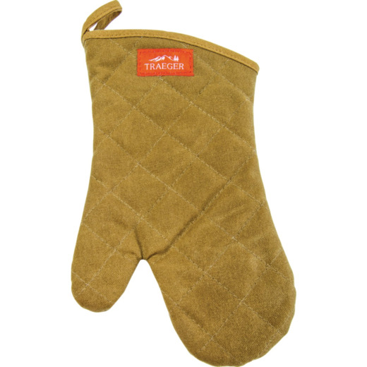 Traeger Brown Canvas Barbeque Mitt