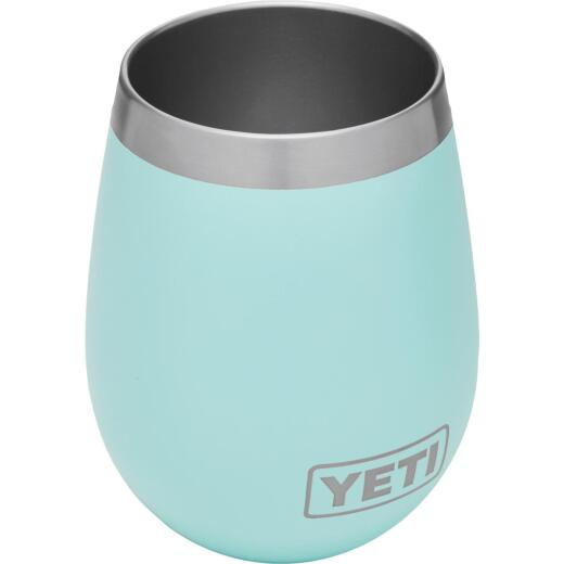 Yeti Rambler 10 Oz. Seafoam Stainless Steel Insulated Wine Tumbler