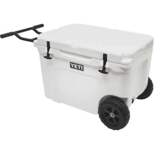 Yeti Tundra Haul 45-Can 2-Wheeled Cooler, White