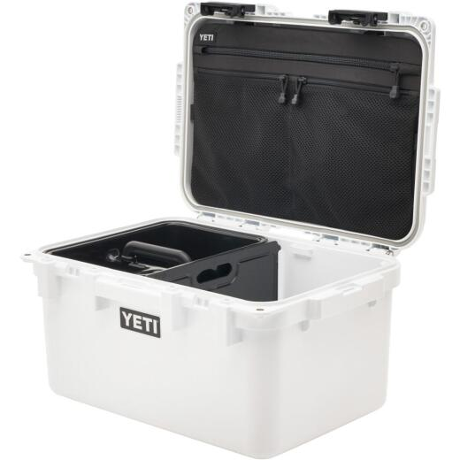 Yeti LoadOut GoBox 30 14.7 In. W. x 11.19 In. H. x 20.58 In. L. White Tote