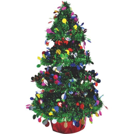 Youngcraft 14 In. Green 3-Dimensional Christmas Tree